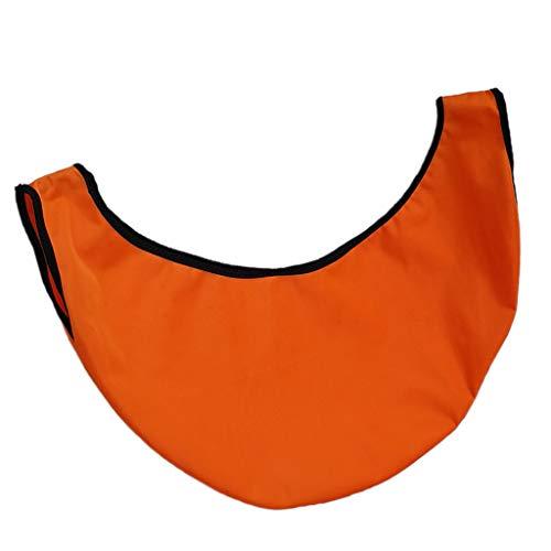 freneci Microfibre Géante Lavable de Polisseur de Boule de Bowling en Microfibre Voir Le Nettoyant de – Orange, 50X23cm