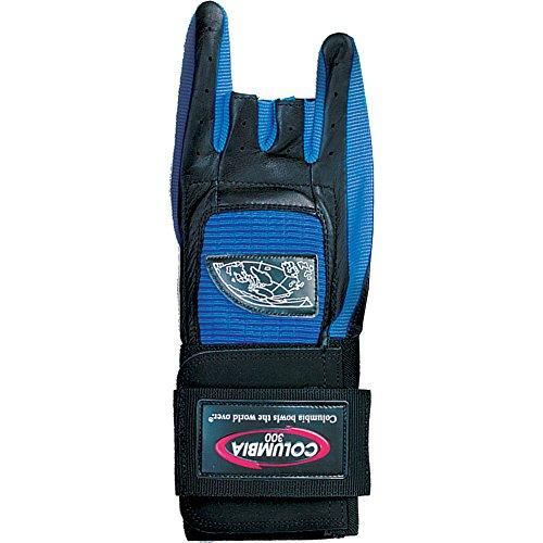 COLUMBIA 300 Pro Gant de Bowling avec Support de Poignet pour droitier Bleu Bleu Petit