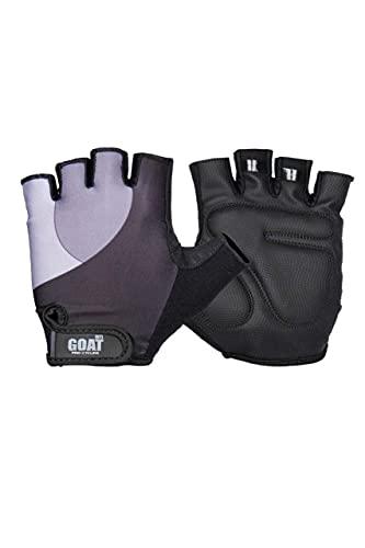 Goat Gants de bowling confortables et flexibles pour cyclisme, haltérophilie et bowling – Noir fluo – Taille 5/6,4