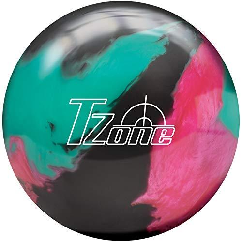 Brunswick Balle de bowling TZone – Toutes les couleurs – Cosmic dans tous les poids (Razzle Dazzle, 16 LBS)