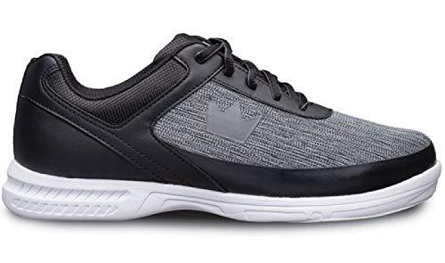 Brunswick Chaussures de bowling Frenzy pour débutants et confirmés en 3 tailles 38-47 – Noir – Statique, 44 EU