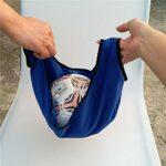 HomeDecTime Kit de 2 Sac de Balle de Bowling Étanche Housse Transport Balle de Bowling