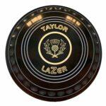 Taylor Lazer Progrip Lot de 4 boules de boulingrin Lawn bowling Jeu en intérieur et en extérieur Size 1