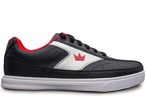 Brunswick Renegade Black/Red, Chaussures de Bowling Homme, Noir/Rouge, Taille 44