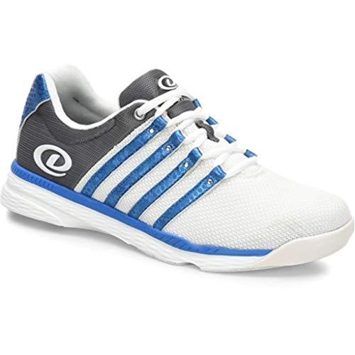 Dexter Kevin Chaussures de Bowling pour Homme Blanc/Gris/Bleu, Homme, DM0000848M-065, Blanc, Gris, Bleu, 6 UK