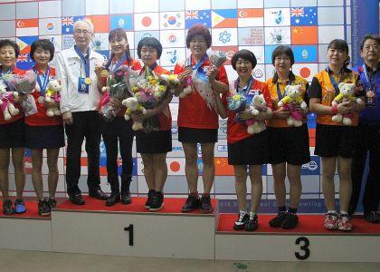 Korea sweeps Asian Seniors Championship doubles titles