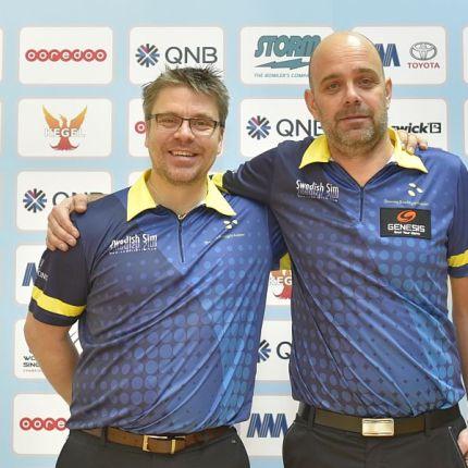 Sweden's Hellstrøm, Paulsson take over lead in Men's World Singles Championships