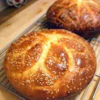 Vasilopita (Greek New Year's Bread)
