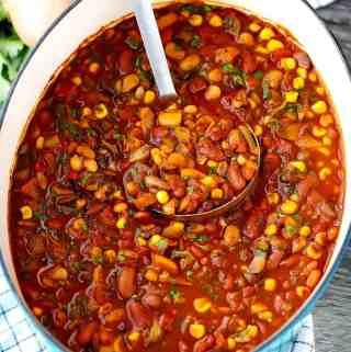 Smoky Vegetarian Chili