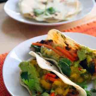 Blackened Fish Tacos with Mango Salsa
