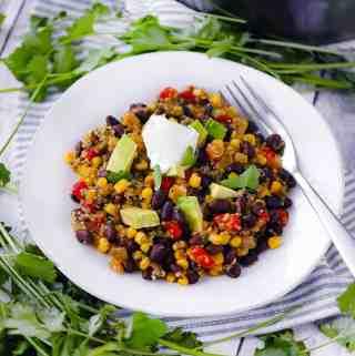 Spicy Quinoa and Black Beans