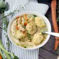 Easy Chicken and Dumplings from Scratch