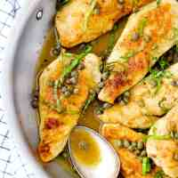 Chicken Piccata with Lemon Butter Caper Sauce
