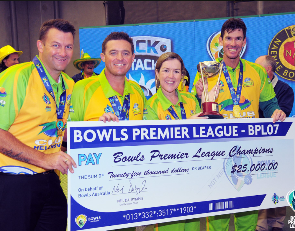 BPL07 winners Gold Coast Hawks