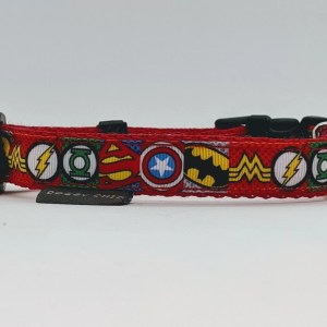 superhero dog collar
