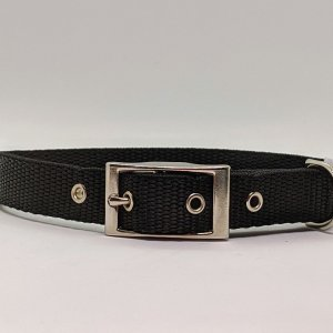 Black polyprop collar for your dog