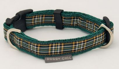 Irish National Tartan Collar for your dog