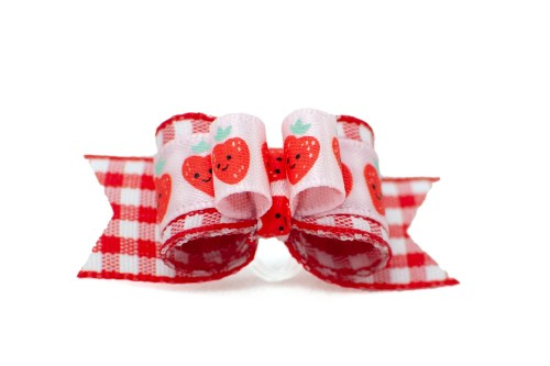 Strawberry Picnic ~ Plush Tie
