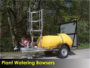 Plant Watering Bowsers