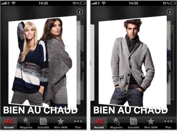 app h&m iphone