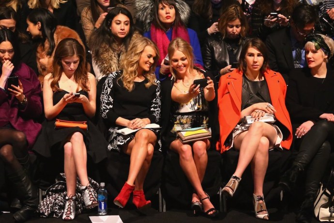 front row defile de mode