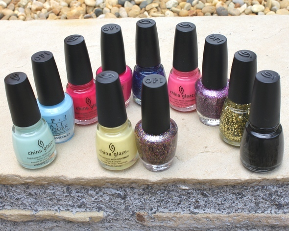 nail polish opi essie swatch china glaze orly