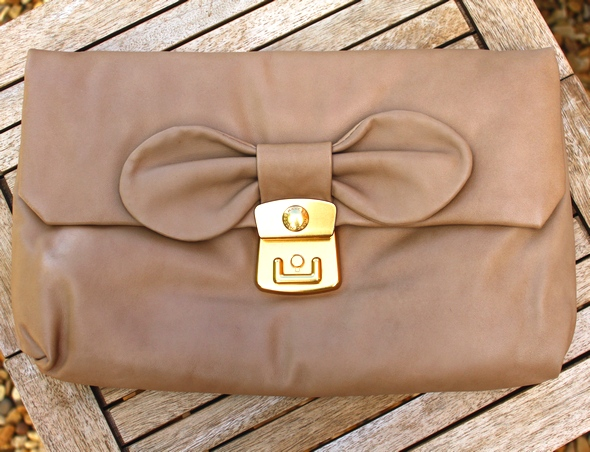 linda marc by marc jacobs clutch bag bow