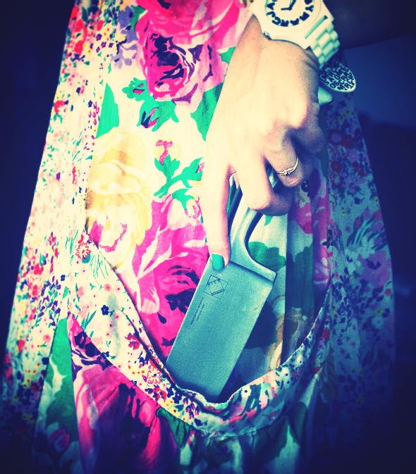 h&m garden dress robe flowers fleurs