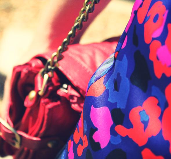 sac en cuir rouge etam