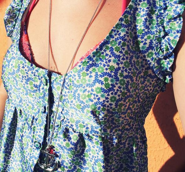 robe courte estivale mango