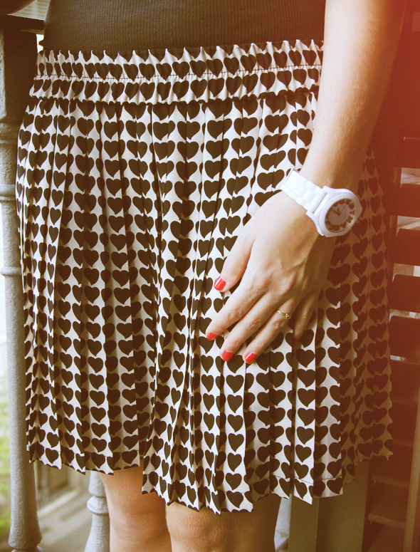 Jupe plissée Zara