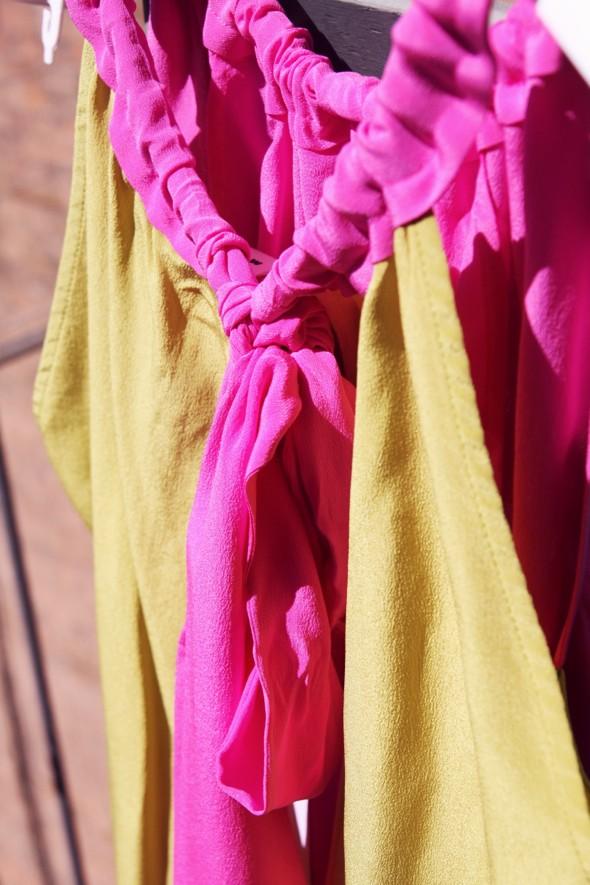 top soie multicolore marni