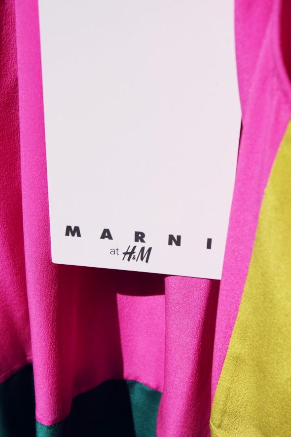 étiquette Marni H&M
