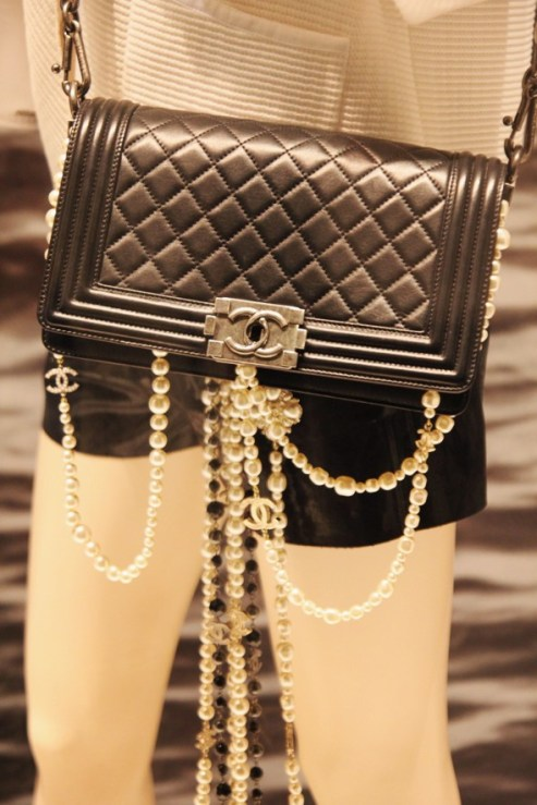 Le boy flap bag Chanel