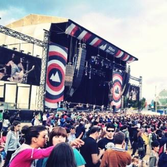 bilbao bbk festival musique rock music 2012 blog voyage travel