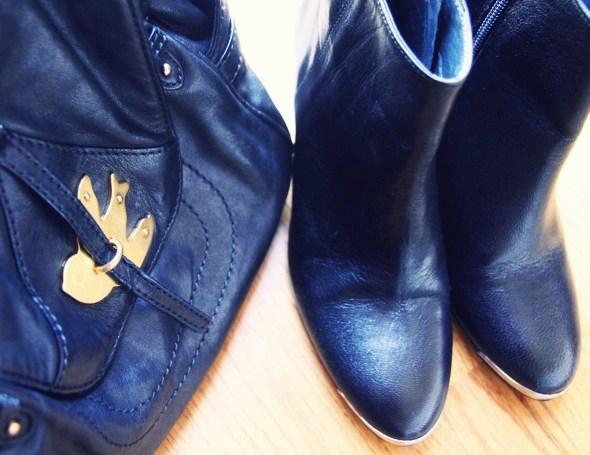 _-Bottines boots Jonak noires - bag sac sookie marc by marc jacobs_effected