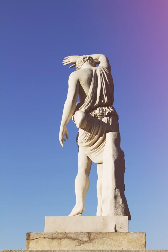 montjuic statue_effected
