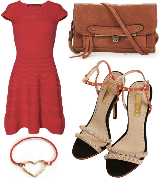wishlist soldée Comptoir des cotonniers robe 2012 topshop heels 2013 bague ring heart coeur abaco sac cuir leather camel