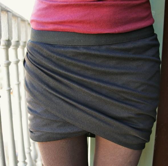 jupe skirt alexander wang T twisted falda_effected