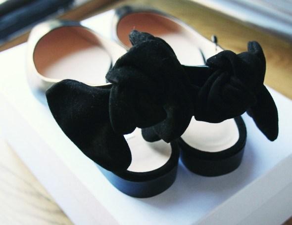 carven noeud sandales