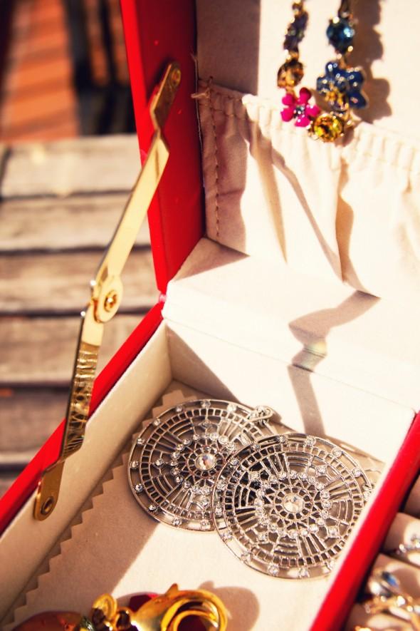 jewel box boite à bijoux agatha boucles d'oreilles _effected