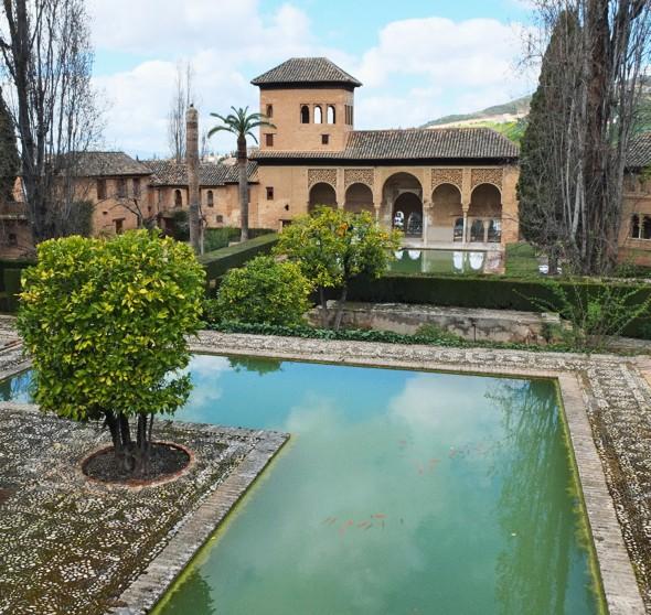 alhambra jardin