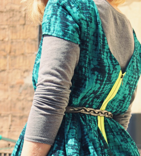 _-robe augustine ba&sh dress esmerald émeraude_effected