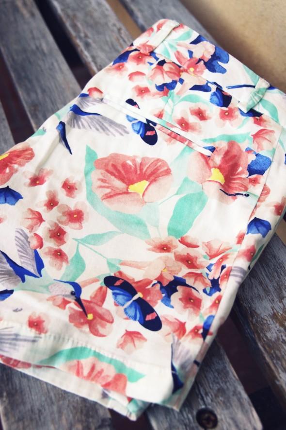 -short paul and joe sister 2013 oiseaux fleurs collection été printemps_effected