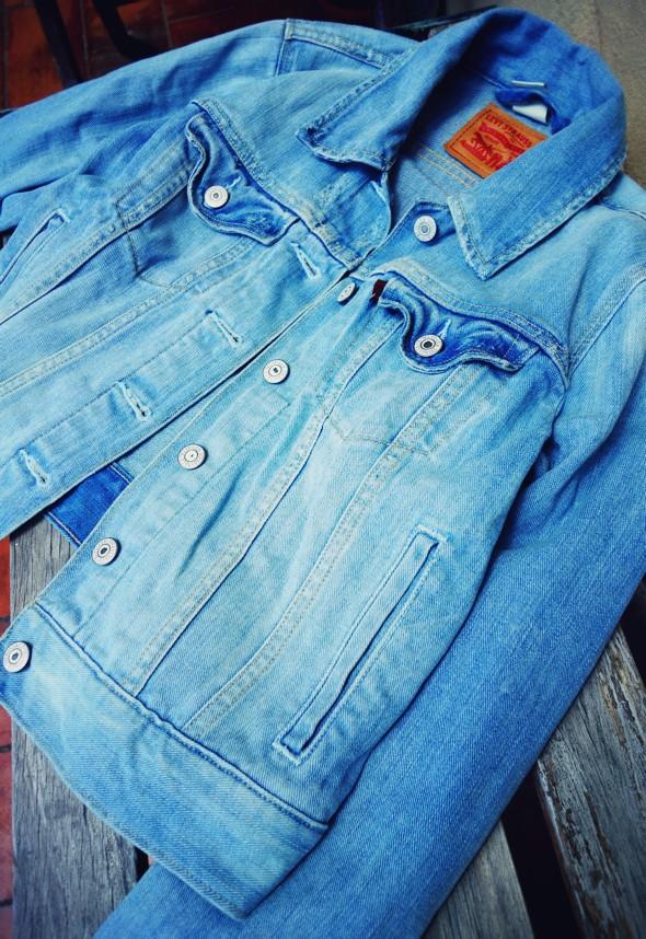 _levi's denim jacket veste jean levis 2013_effected