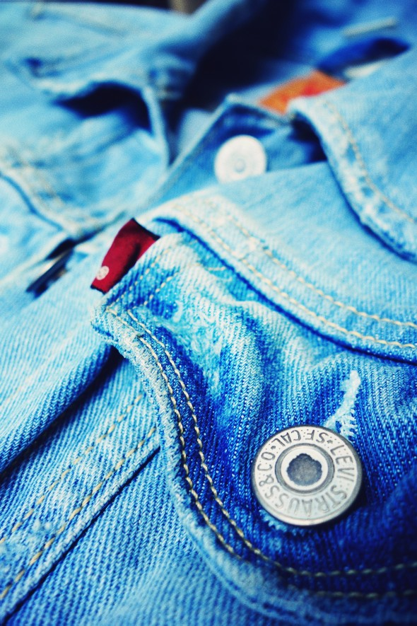 levi's veste en jean