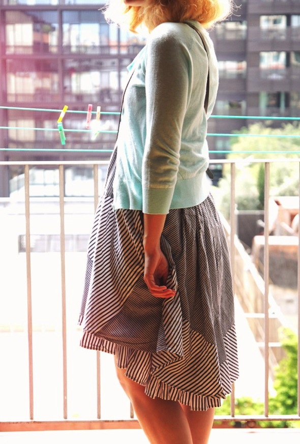 robe dress vestido asos cardigan turquoise mango_effected