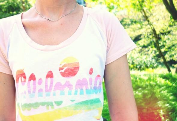 t-shirt californie