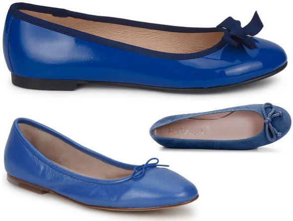 ballerines ballerinas bloch betty london pretty ballerinas shoes blue azul bleu klein blue