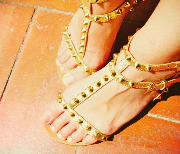 shoes chaussures ash italia malibu gold doré_effected